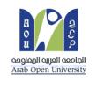 الجامعة العربية المفتوحة تفتح باب القبول  في برامج البكالوريوس